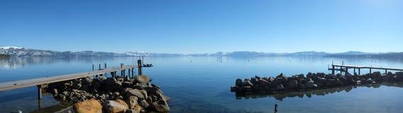 Panoramische Ansicht von Lake Tahoe Lizenzfreies Stockfoto