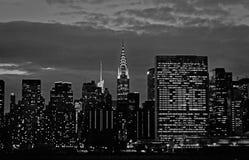 Panoramische Ansicht von Manhattan lizenzfreies stockfoto