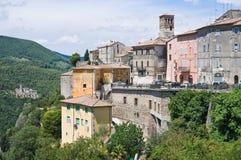 Panoramische Ansicht von Narni. Umbrien. Italien. Stockfotografie