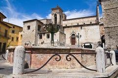 Panoramische Ansicht von Narni. Umbrien. Italien. Stockfotos