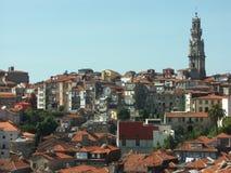 Panoramische Ansicht von Oporto, Portugal Lizenzfreies Stockfoto