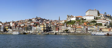 Panoramische Ansicht von Porto Stockfoto