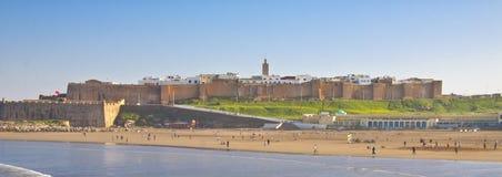 Panoramische Ansicht von Rabat Lizenzfreie Stockfotos