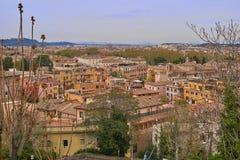 Panoramische Ansicht von Rom Lizenzfreies Stockfoto