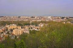 Panoramische Ansicht von Rom Stockfotografie
