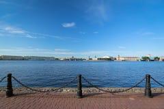 Panoramische Ansicht von St Petersburg Lizenzfreie Stockbilder