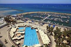 Panoramische Ansicht von Tel Aviv Lizenzfreies Stockbild