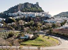 Panoramische Ansicht von Zahara Stockfotografie
