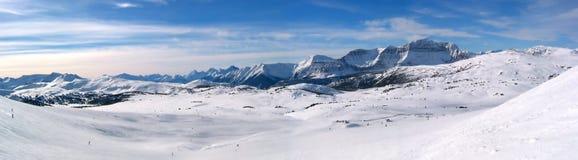 Panoramische berg Stock Foto