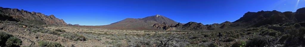 Panoramische Berge Stockfoto