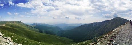 Panoramische bergen Stock Afbeeldingen