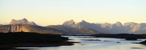 Panoramische bergen Royalty-vrije Stock Fotografie