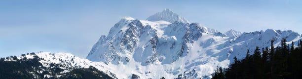 Panoramische bergketen Royalty-vrije Stock Afbeeldingen