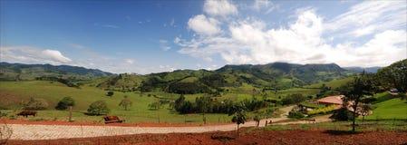 Panoramische Braziliaanse montains Stock Afbeelding