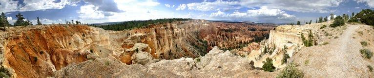 Panoramische de Canion van Bryce Royalty-vrije Stock Fotografie