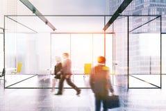 Panoramische gestemde bureauvergaderzaal Royalty-vrije Stock Foto