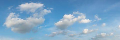 Panoramische hemel Stock Afbeeldingen