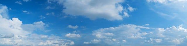 Panoramische hemel met wolk Royalty-vrije Stock Afbeelding