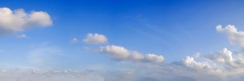 Panoramische hemel met wolk Stock Fotografie