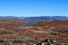 Panoramische Herbstlandschaft Lizenzfreie Stockfotos