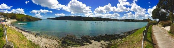 Panoramische Küste stockbilder