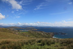 Panoramische kustlijn Stock Fotografie