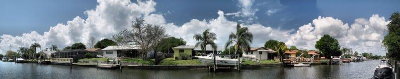 Panoramische Lakeveiw Royalty-vrije Stock Foto's
