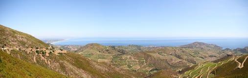 Panoramische Landschaft Stockfotos