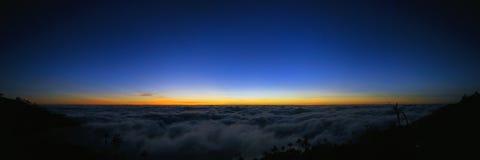 Panoramische Landschaft Stockfoto