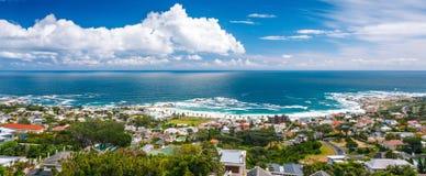 Panoramische Landschaft Cape Towns Lizenzfreies Stockbild