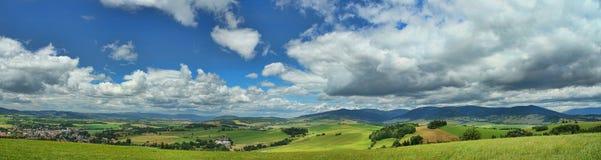 Panoramische landschapsfoto Stock Foto's