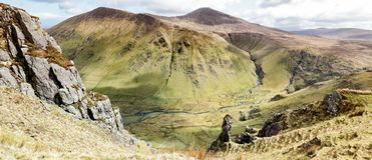 Panoramische Maghanaboevallei Stock Afbeelding