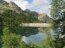 Panoramische mening Alpes Royalty-vrije Stock Foto
