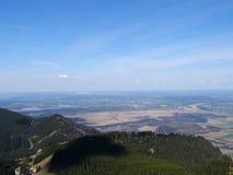 Panoramische mening Alpes Stock Afbeeldingen