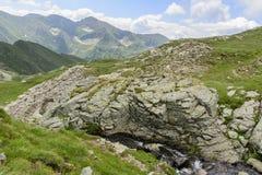 Panoramische mening Alpes Stock Afbeelding