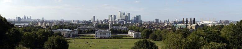 Panoramische Stadt von London Lizenzfreie Stockfotos