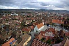 Panoramische Stadtansicht Lizenzfreies Stockfoto