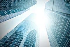 Panoramische und Perspektivenweitwinkelansicht zum Stahl Lizenzfreies Stockbild