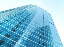 Panoramische und Perspektivenweitwinkelansicht zum Stahl Stockfotos
