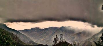 Panoramische Waaier Royalty-vrije Stock Foto's