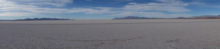 Panoramische - Zoutmeren grandes/grote salines - salta & jujuy, Argentinië royalty-vrije stock foto's