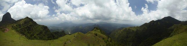 Panoramischer Berg Stockfotografie