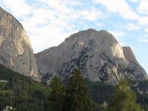 Panoramischer Bergblick der Dolomit von Castelrotto, Süd-Tirol - Italien Stockbild
