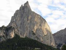 Panoramischer Bergblick der Dolomit von Castelrotto, Süd-Tirol - Italien Stockbilder