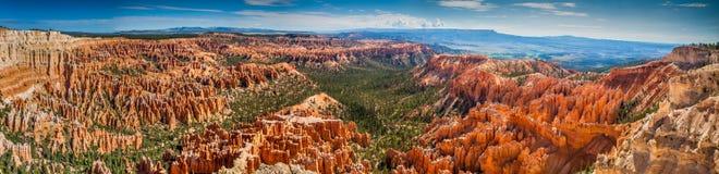Panoramischer Bryce Canyon Stockfoto