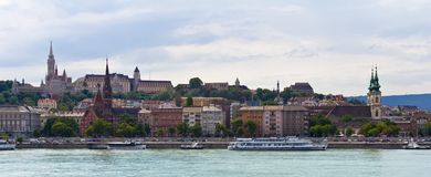 Panoramisches Buda Teil stockbild
