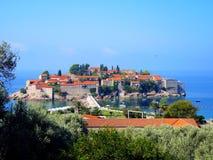 Panoramisches Foto der Insel von St Stephen Stockbilder