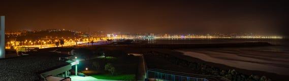 Panoramisches Foto der Stadt von Tanger marokko stockfotografie