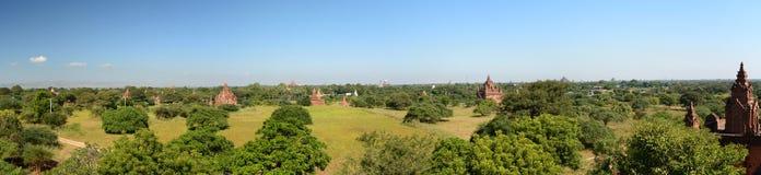 Panoramisches Foto von Nagayon-Tempel Bagan myanmar Lizenzfreie Stockbilder