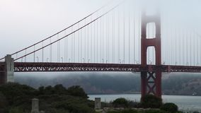 Panoramisches Golden Gate stock video footage